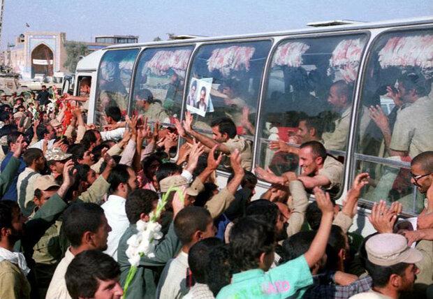 برگزاری همایشهای سراسری الماسهای درخشان در پاسداشت آزادگان