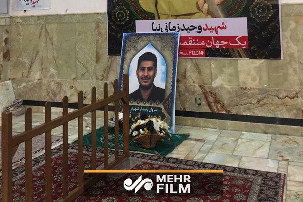 وقتی شهید از محل دفن خود خبر داشت