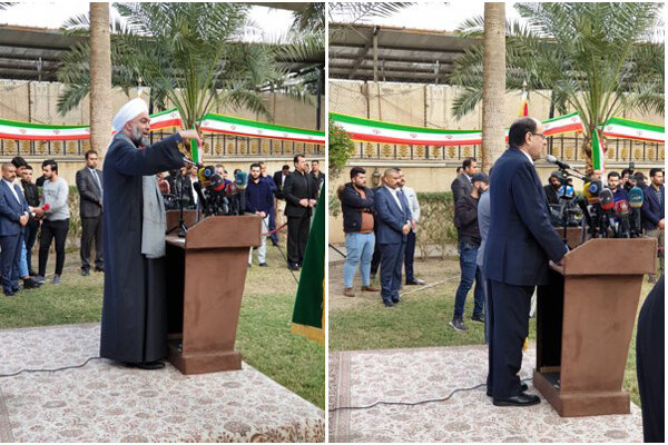 برگزاری سالروز پیروزی انقلاب و اربعین شهدای مقاومت در بغداد