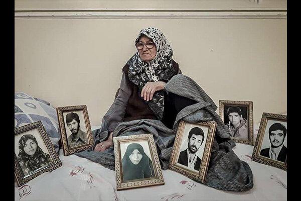 سکینه واعظی، مادر خانواده شهید پرور جعفریان درگذشت