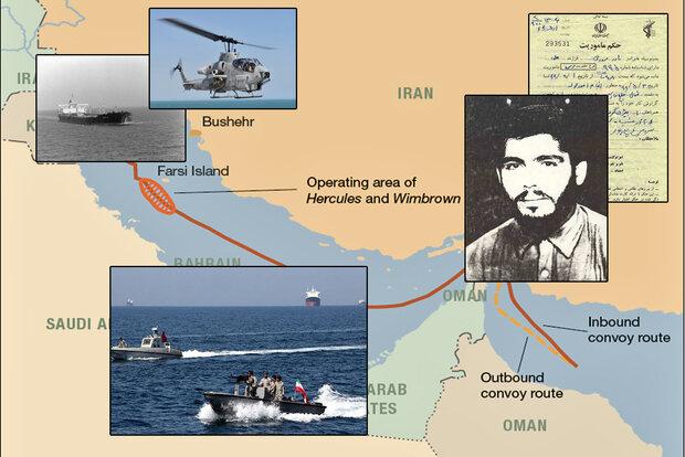 وقتی ایران کشتی وهلیکوپتر آمریکایی را زد/نبرد رو در رو با شیطان