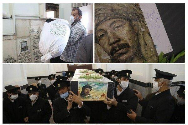 شهادت؛ نمادی از دوستی دو ملت/ نسیم در جوار امام رئوف آرام گرفت